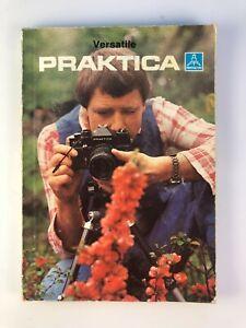 Vintage Versatile PRAKTICA Super TL3 MTL3 PLC3 VLC3 EE-2 Pentacon Manual