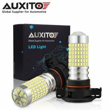 2X AUXITO H16 5202 144SMD LED Fog Light 6000K White Fit for 2007-2018 GMC Sierra