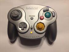 Gamecube WaveBird Wireless Controller Platinum DOL-004 *Authentic* No Receiver