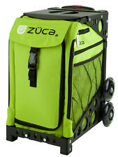 """Zuca """"Apple - Lime Green"""" Insert Bag with Black Frame - Perfect School Bag!"""