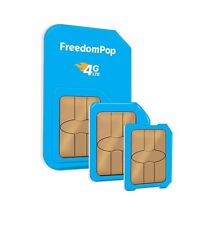 FreedomPop 4G LTE SIM 3-1 Kit Data Only 700MB monthly