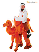 Deluxe Adult Step in Camel Costume Animal Nativity Wise Man Fancy Dress Outfit