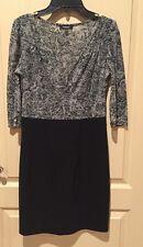 Express Quarter Sleeve Dress Size Small
