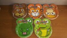 Hefty Zoo Pals Safari Plates Variety 2 Packages of 20 plates & Animals Hefty Party Plates | eBay