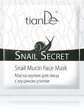 Snail Mucin Facial Mask Long-lasting youth tianDe 14603 тианДе Russian cosmetic