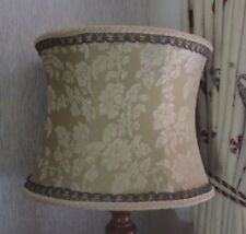 Very large vintage 1950`s 60`s standard lined lampshade