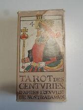 58 CARTES TAROT DES CENTURIES NOSTRADAMUS HERON BOECHAT MAITRES CARTIER BORDEAUX