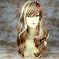 Wiwigs Stunning Strawberry Blonde & Red Mix Long Wavy Skin Top Ladies Wig