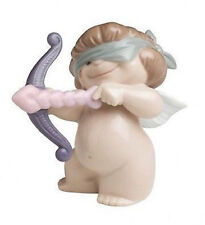 NAO Porcelain by Lladro : CHEEKY CHERUBS : AIMING FOR LOVE 020.05063