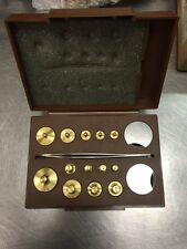 Torbal TC-105 Metric And Apothecary Weight Set Grams Drams