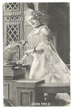 Old Antique Postcard Anna Held French Actress