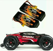 Arrma Fazon BLX 65+ mph pair MaxAmps lipo battery pack 5450mah 3s 11.1v 22.2v