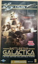 Battlestar Galactica: Gold Cylon Commander Tower Exclusive 12-Inch Figure - NEW!
