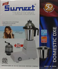 Sumeet-Traditional-Domestic-DXE-Mixer-Grinder-750-Watts-220-V-White-free-ship