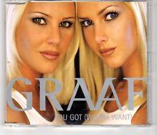 (HI735) Graaf, You Got (What I Want) - 1998 CD