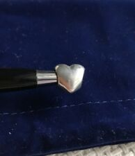 RETIRED Pandora Smooth Puffed Heart Sterling Silver Charm #790137