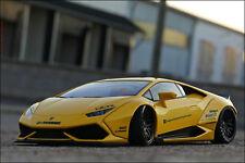1:18 Tuning Lamborghini Huracan LP610-4 Liberty Walk Breitbau [ YELLOW-EDITION ]