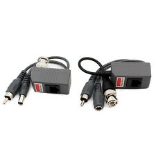 Audio Video Power Over transmitte receiver Cable BNC Coax CCTV RJ45 Balun
