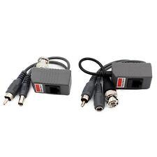 AUDIO Video POWER OVER transmitte Ricevitore Cavo BNC cavo coassiale CCTV Balun RJ45