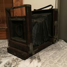 Eastman Kodak View Camera 2-D Large Format Camera w/ Stand ca. early 1900s