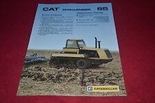 Caterpillar Challenger 65 Tractor Dealer's Brochure DCPA6