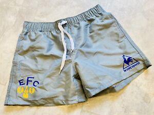 Everton Silver Grey Shorts - Medium