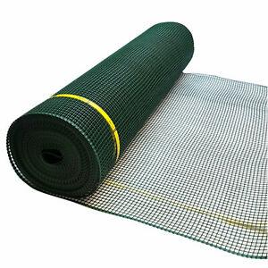 9mm Garden Fencing Semi Rigid Plastic Mesh Net Animal Landscaping Green, 3 Sizes
