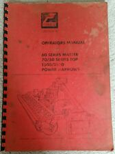 GREENLAND FERABOLI POWER HARROW OPERATORS MANUAL