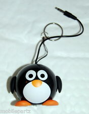 Kit Sound Mini Buddy Penguin - Wired Portable Speaker for iPhone iPad Phones