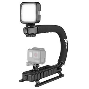 Opteka X-GRIP VL-MOD Stabilizing Handle for GoPro HERO6 HERO5 HERO4 HERO3 HERO+