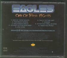 EAGLES One Of These Nights CD GERMANY ALSDORF USA ASYLUM EARLY ISSUE NO BARCODE
