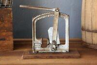 Vintage C. E. Potter Cast Iron Walnut Nut Cracker Sapulpa Oklahoma Kitchen Tool