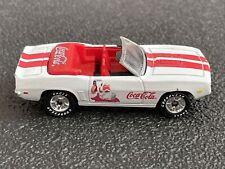 Matchbox 1969 Camaro SS Convertible White Classic Red Race Stripes (Coke A Cola)