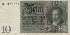 Ro.173F 10 Reichsmark 1929 (1) braune Kenn-Nummer