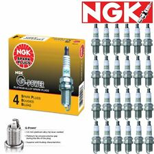 24 - NGK G-Power Plug Spark Plugs 2003-2012 Maybach 57 6.0L 5.5L V12 Kit Set