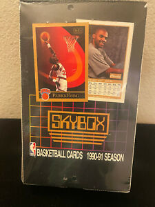 New 1990-1991 Skybox NBA Basketball Factory Sealed box