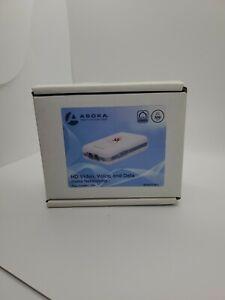 Asoka PL9671-A2 PlugLink-ETH-500 Mbps HomePlug Powerline Ethernet Adapter (2Pk)