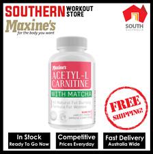 Maxine's Acetyl-L Carnitine + Matcha Fat Burner 100 Capsules FREE SHIPPING