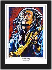 """Bob Marley"" Limited Edition Art Print By Patrick J Killian"