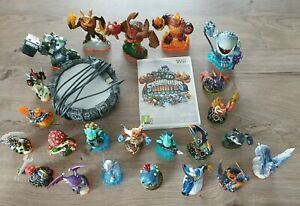 Jeu Skylanders giants  sur Wii + 23 figurines
