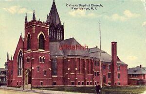 CALVARY BAPTIST CHURCH PROVIDENCE, RI 1912