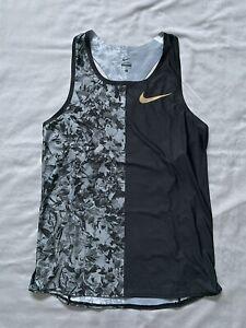 New Nike Pro Elite Gold Medalist Singlet Size Medium