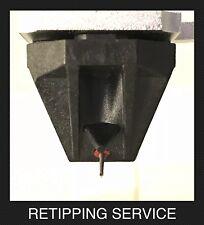 Rega Ania Nude Elliptical Diamond Precision Cantilever Retipping No Cartridge