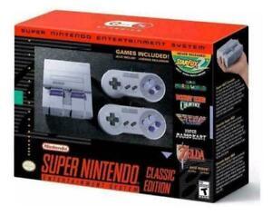 Super Nes Classic Edition Mini Console Brand New In Stock Entertainment