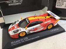 MINICHAMPS 1/43 McLaren F1 GTR Le Mans 1998 O'ROURKE / SUGDEN    BOXED