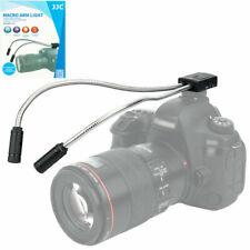 LED-2DII C Macro Bras LED Lumière Gros Plan Canon T8I 90D 850D 6D 7D M50 M6 T7