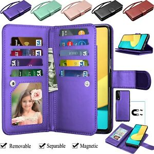 For LG Stylo 4 5 6 7 Phone Wallet Wrist Strap Stand Card Leather Flip Case Cover
