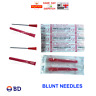 18G Blunt Needles Pins Dispensing Drawing Liquid Ink Refill NO INJECTION 1,5inch