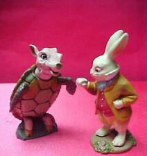John Tenniel's figure Tortoise & The Hare fr. Alice's adventure in wonderland