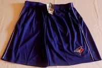 Toronto Blue Jays Shorts 2XL Embroidered Logo Blue Majestic Athletics MLB